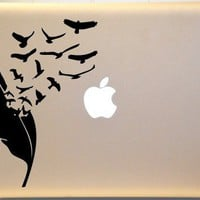 Birds of a Feather Macbook Decal Vinyl Sticker for Mac PC Laptop | KrazyKutz - Housewares on ArtFire