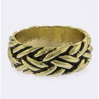 Intertwined Pattern Ring