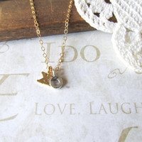 HUGS & KISSES xoxo charm necklace