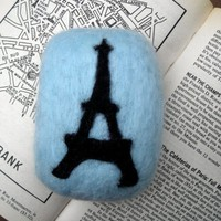 Felted Soap - Eiffel Tower