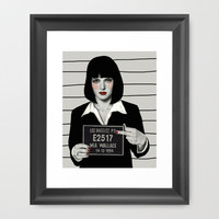 Mia Framed Art Print by Sofia Bonati | Society6