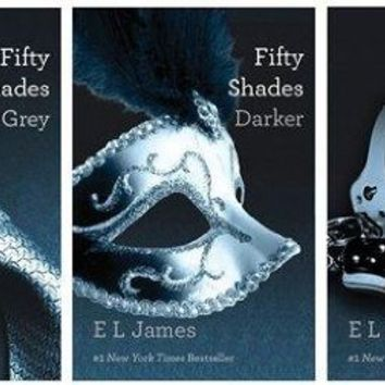 FIFTYSHADES OF GREY: Fifty Shades Of Grey 3-Volume Set:Fifty Shades of Grey, Fifty Shades Darker, Fifty Shades Freed [The Writer's Coffee Shop] [Paperback] E. L. James (Author)