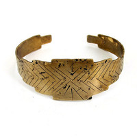 Sunburst Cuff Bracelet
