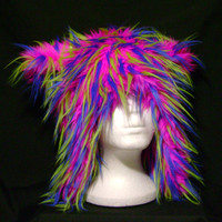 Bear Rave  Faux Fur Hat