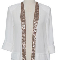 Split White Jacket