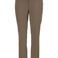 Taupe Smart slimming bootcut plus size pants