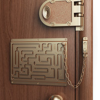 Defendius door chain