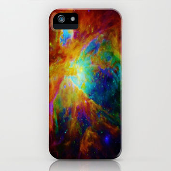 Orion Nebula Brightly Colored iPhone & iPod Case by 2sweet4words Designs
