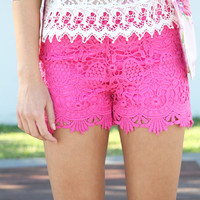 SABO SKIRT  Ness Shorts - Pink - $48.00