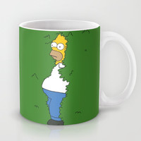 Homer Simpson (The simpsons) Mug by TxzDesign