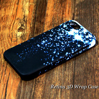 Blue Star Falling 3D-Wrap Case iPhone 5S 5 5C 4S 4 Case | Ac.y.c