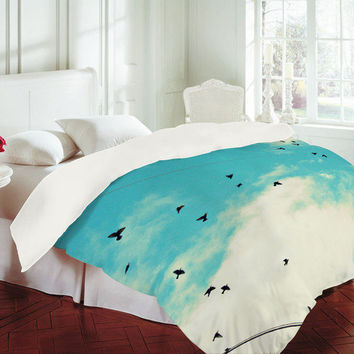 DENY Designs Home Accessories | Shannon Clark Blue Skies Ahead Duvet Cover