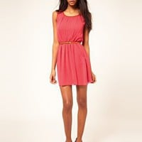 ASOS Skater Dress With Pockets at asos.com
