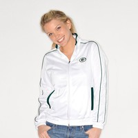 G34HER by Carl Banks Green Bay Packers Tag Up Track Jacket - Women's