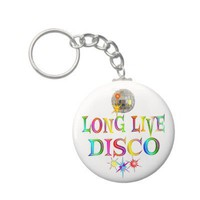 Long Live Disco Key Chain from Zazzle.com