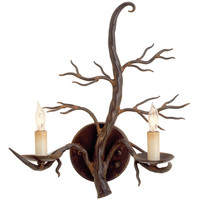 Iiron Treetop Wall Sconce -hand-forged