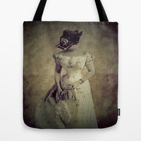 Classy Meets Selfie  (Vintage) Photogenic Series  Tote Bag by    Amy Anderson