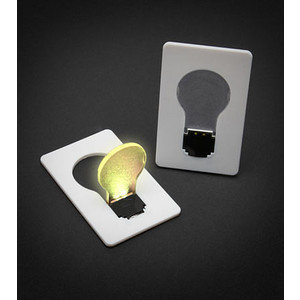 Credit Card Lightbulb