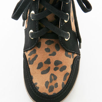 Spotted Wild Wedge Sneaker - Wedge Sneakers at Pinkice.com