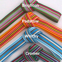 Deckchair Stripe Ribbon Roll