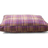 Gosford Grape Tweed Cushion Dog Bed
