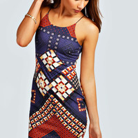 Lulu Geo Bodycon Dress