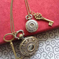 zodiac Pocket Watch necklaces