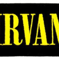 Nirvana Name Logo Embroidered Iron On Officially Licensed Applique Patch