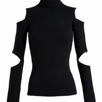 FILLES A PAPA | Merino Wool Turtleneck with Cut Outs | Browns fashion & designer clothes & clothing