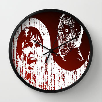 Yin Yang Horror - wall clock by Hogan Finland