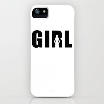 girl iPhone & iPod Case by Steffi ~ findsFUNDSTUECKE