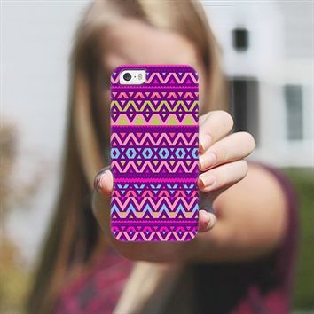 Purple Aztec iPhone 5s case by Orna Artzi | Casetify
