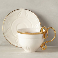 Ariodante Cup & Saucer by Anthropologie