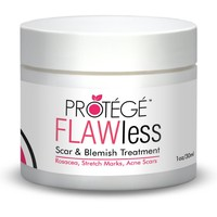 FLAWless Best Scar & Stretch Mark Treatment. Also Works for Rosacea, Acne Scars & Blemishes - Guaranteed or Your Money Back!