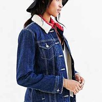 Levis Sherpa-Lined Denim Jacket - Urban Outfitters