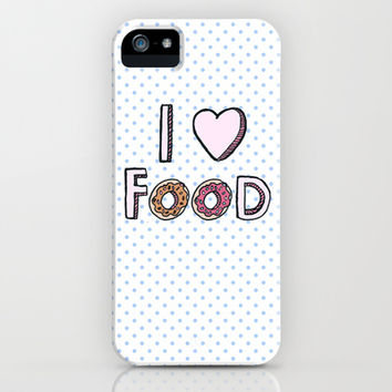 I Love Food iPhone & iPod Case by Tangerine-Tane
