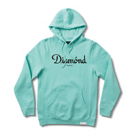Champagne Pullover Hood in Diamond Blue
