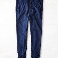 AEO Men's Fleece Jogger Pant (Indigo)