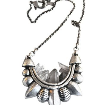Pamela Love Medium Quartz Tribal Necklace