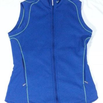 Nike Women's Golf Therma Fit Blue Vest - Running - XS - Extra Small