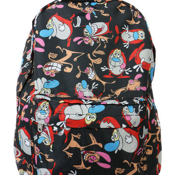 REN AND STIMPY BACKPACK