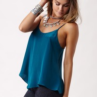 POISON SCOOP NECK FLARE CAMI