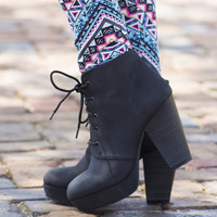 Walk Away Bootie - BLACK /