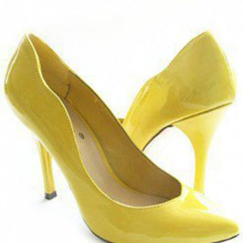 SCALOPED HEELS @ KiwiLook fashion