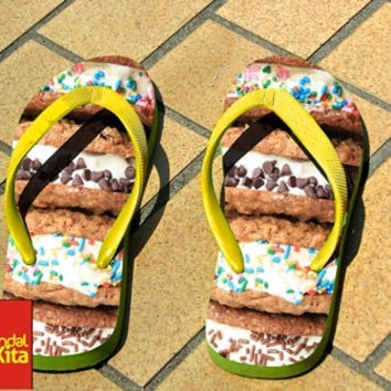 Flip Flops - Ice Cream Sandwich