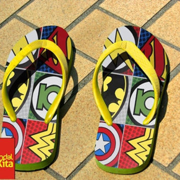 Flip Flops - Pop comic super hero