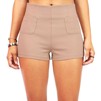 Default High Waist Shorts | Trendy Shorts at Pink Ice