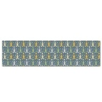 Kess InHouse JG1027AKP03 Julia Grifol My Leaves on Blue Art Clings 6.5-Inch x 9-Feet Strip Sticker Wallpaper Decal
