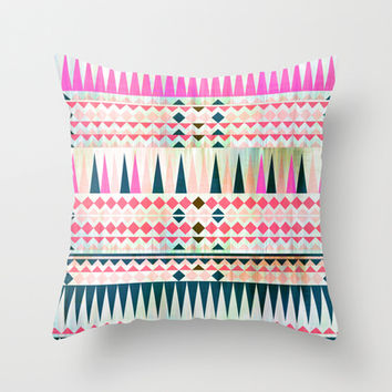 Mix #545 Throw Pillow by Ornaart