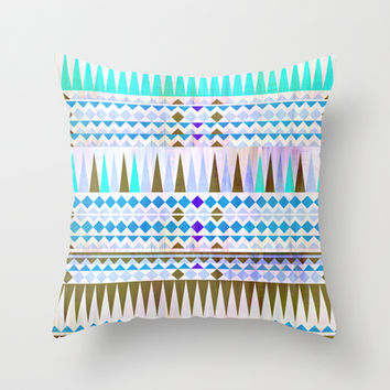Mix #544 Throw Pillow by Ornaart